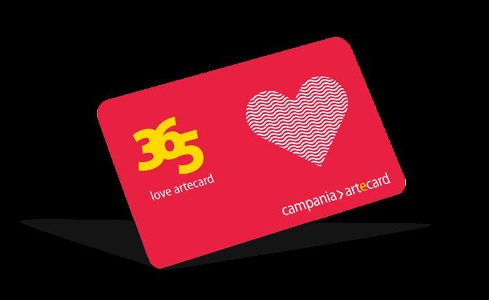 San Valentino con Artecard Love: innamoratidell'arte e partecipa alla più romantica visita virtuale della Campania. Dal 12 al 14 febbraio online, con app >artecard e nei punti vendita