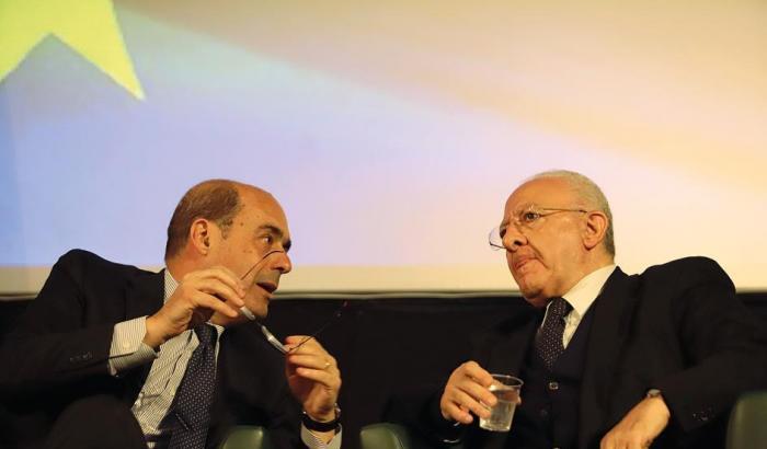 """ELEZIONI AMMINISTRATIVE A NAPOLI 2021 – Zingaretti si dimette da segretario del Pd e la """"corazzata"""" De Luca correrà da sola. Bonavitacola: """"Il Pd scorretto, ci muoveremo in autonomia"""""""