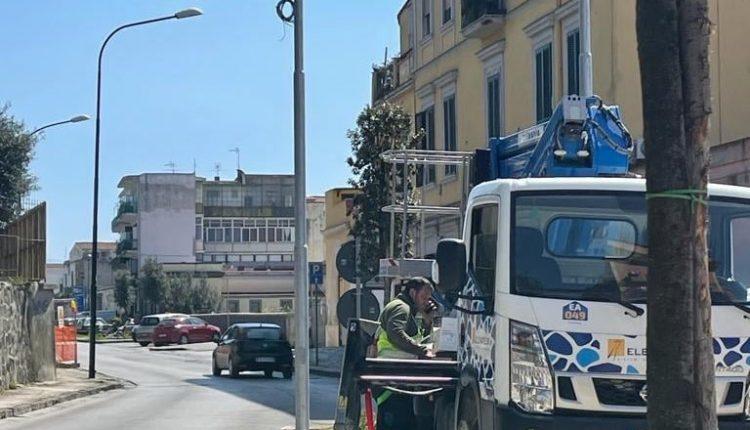 """In arrivo a Portici nuove telecamere """"catturatarga"""" e un nuovissimo sistema di videosorveglianza centralizzata che collega Polizia, Carabinieri e Guardia di Finanza"""