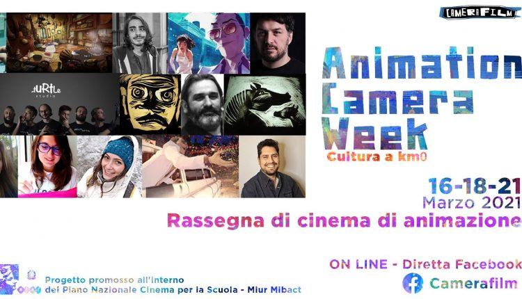 ANIMATION CAMERA WEEK 2021 – Rassegna di cinema di animazione: Cultura a km 0, dal16al21 Marzoin diretta streaming