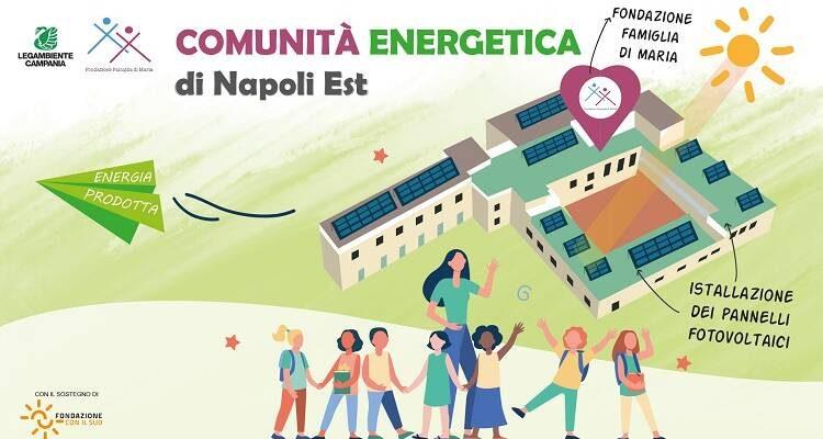 Con Legambiente parte dalla Periferia est di Napoli la prima comunità energetica in Italia