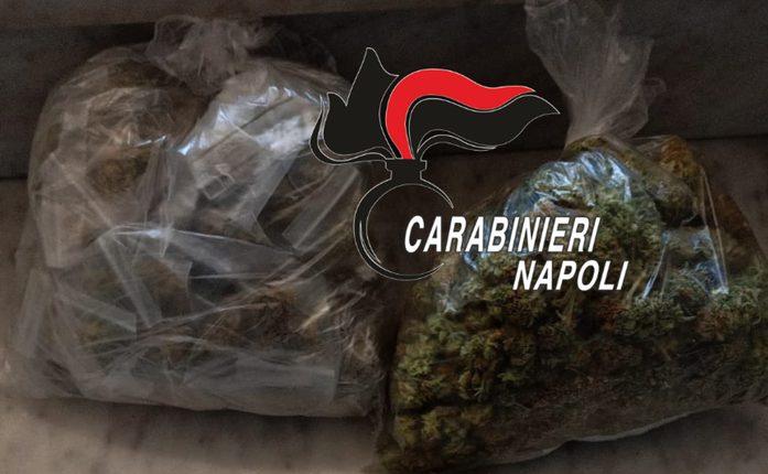 Serrata sulla droga: controlli dei carabinieri e sequestri di marijuana