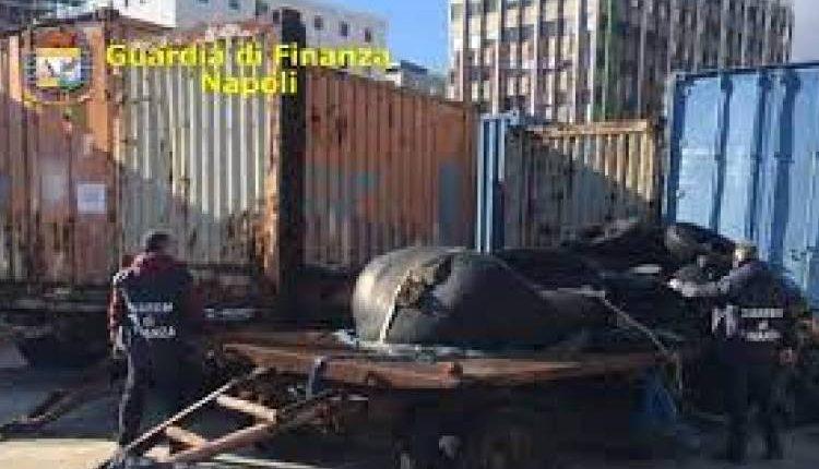 Rifiuti speciali, maxi-sequestro nel porto di Napoli: 100 tonnellate stoccate senza alcuna autorizzazione