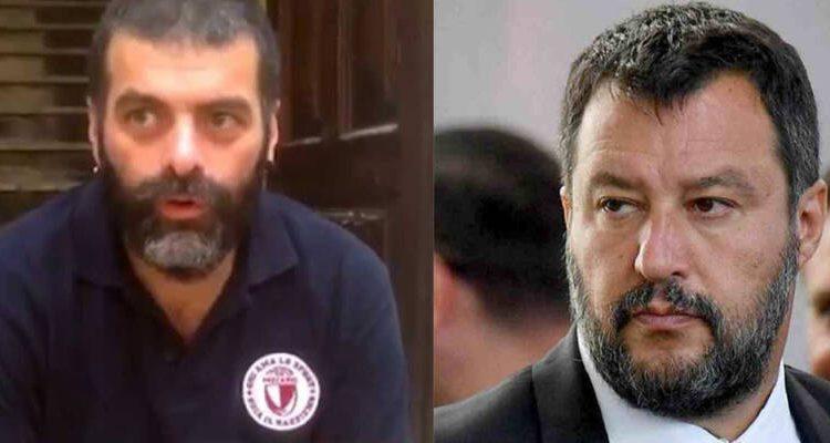 Matteo Salvini lunedì a Napoli al processo contro i 99 Posse, accusati di averlo diffamato