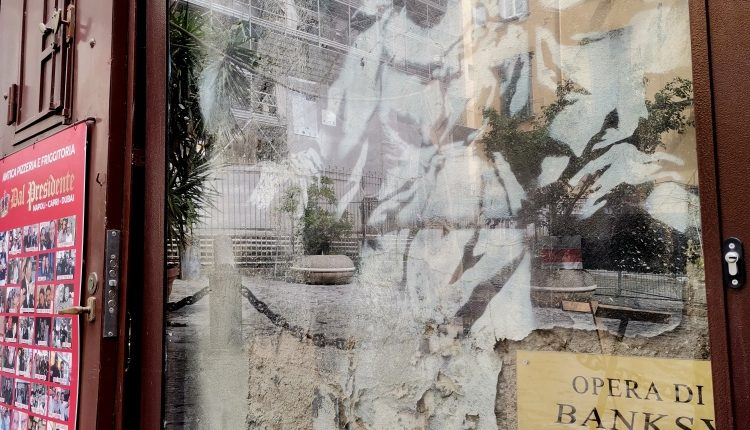 Una galleria d'arte contemporanea tra i vicoli della città: ecco la street art targata Napoli