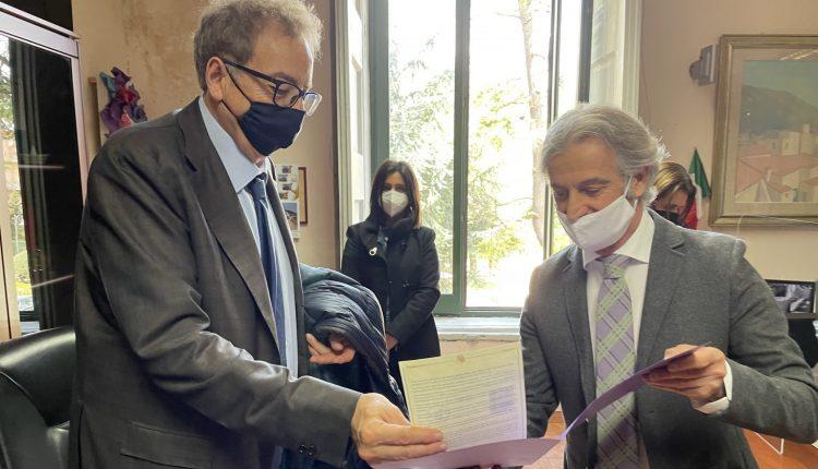"""A Somma Vesuviana interforze politico per la legalità. Il sindaco Di Sarno: """"Visita del Prefetto di Napoli è stata molto importante per la città di Somma Vesuviana"""""""