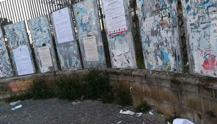"""Manifesti che denunciano aumento della Tari a Portici strappati, Caramiello (5S):""""Presentiamo denuncia alle forze dell'ordine"""""""