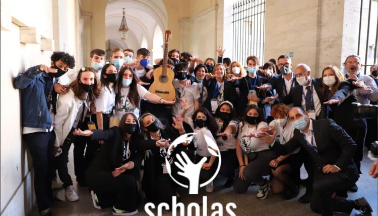 """Il Polo Tecnico """" Fermi – Gadda"""" e la Fondazione Scholas Occurrentes insieme per l'evento di chiusura del PROGETTO MNEMOSINE"""