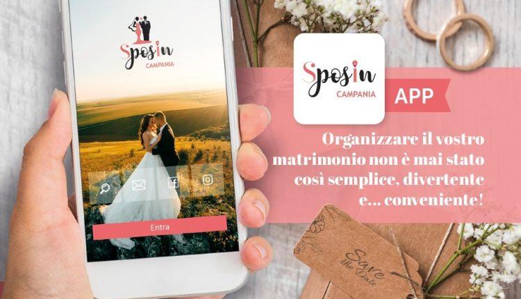 Nasce l'APP SposIn Campania per rilanciare il comparto wedding che riprende le attività
