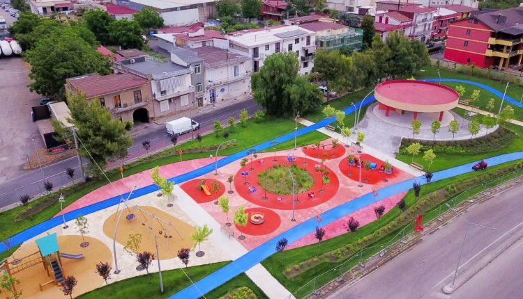 Palma Campania, ecco il nuovo Parco urbano. Il sindaco lancia un sondaggio: «I cittadini scelgano il nome»