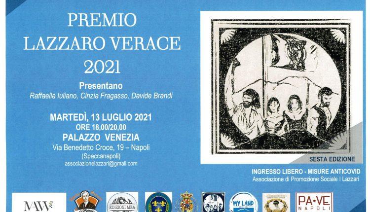 """Al prof. Gennaro De Crescenzo il Premio """"Lazzaro Verace 2021"""""""