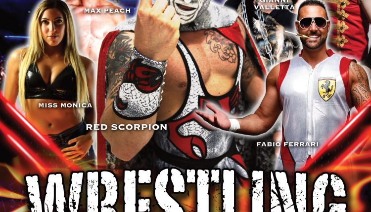 Domani a San Giorgio a Cremano il primo show di wrestling nel Sud Italia dall'inizio della pandemia: I Miti del Wrestling – Fight the Virus!