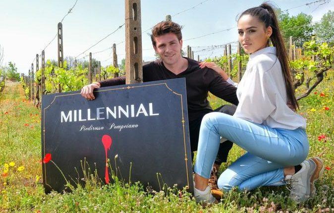 """Sul Vesuvio nasce """"Millennial"""", Il vino della generazione Y"""