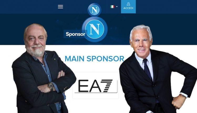 Ecco le nuove maglie del Napoli firmate Armani con il marchio EA7, lo stesso della nazionale olimpica