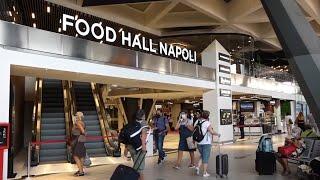 ECCO LA FOOD HALL NAPOLI CENTRALE – Esempio di rigenerazione urbana che coniuga il design e il food, peccato ci sia Mc Donald's