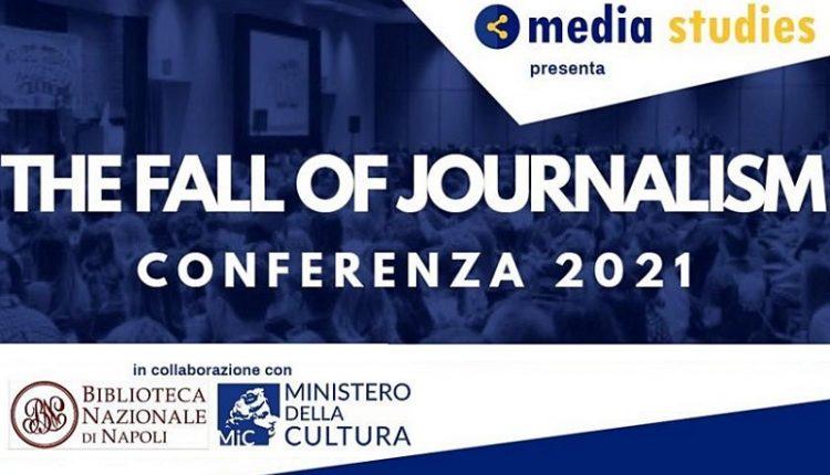"""""""The fall of journalism: quale futuro per l'informazione"""", il 7 ottobre alla Biblioteca nazionale di Napoli"""