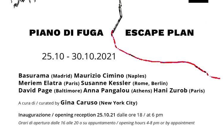 Piano di fuga / Escape Plan: il Collettivo Creative Contagion espone a Roma
