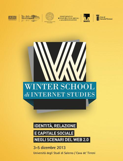 Dal 3 al 5 dicembre all'Università degli Studi di Salerno e al MARTE di Cava de' Tirreni la Winter School di Internet Studies