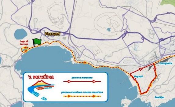 Cambia tutto per la Maratona di Napoli: Percorso, logo e società
