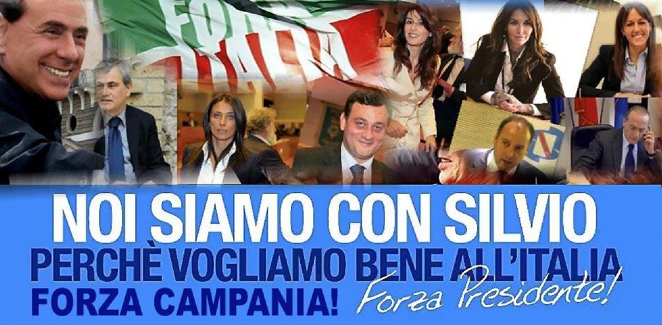 Domenica 26 gennaio si presenta alla Stazione Marittima di Napoli il nuovo gruppo regionale Forza Campania