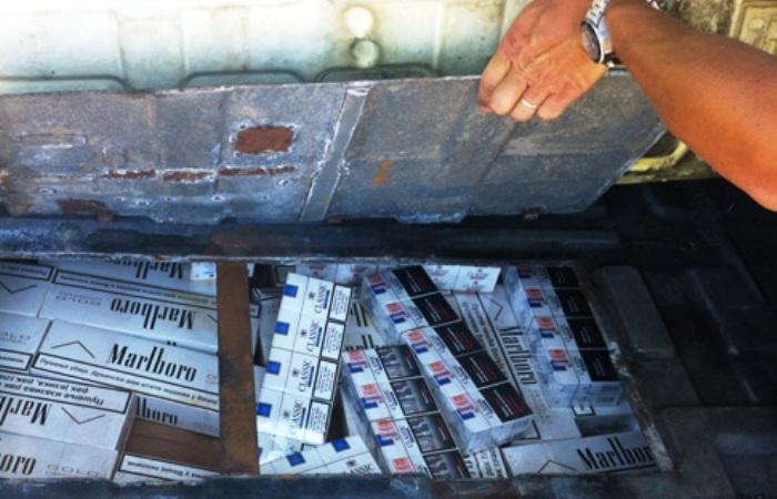 """Ancora """"bionde"""" a Portici. I Niss sequestrano sigarette destinate al contrabbando"""