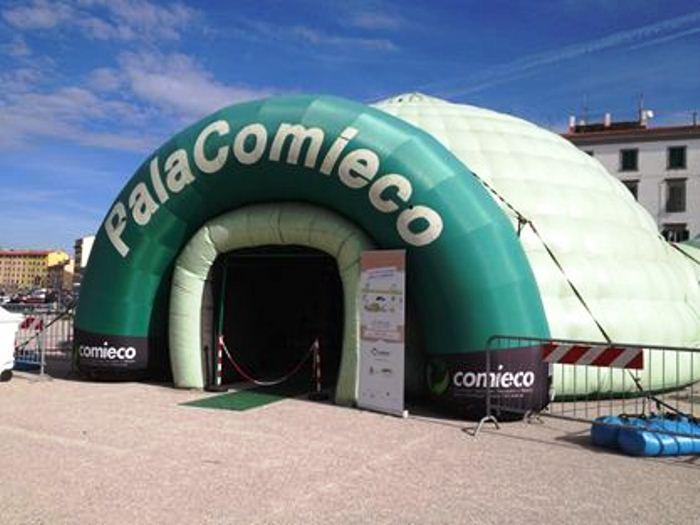 Pomigliano d'Arco apripista del tour di PalaComieco per il riciclo degli imballaggi