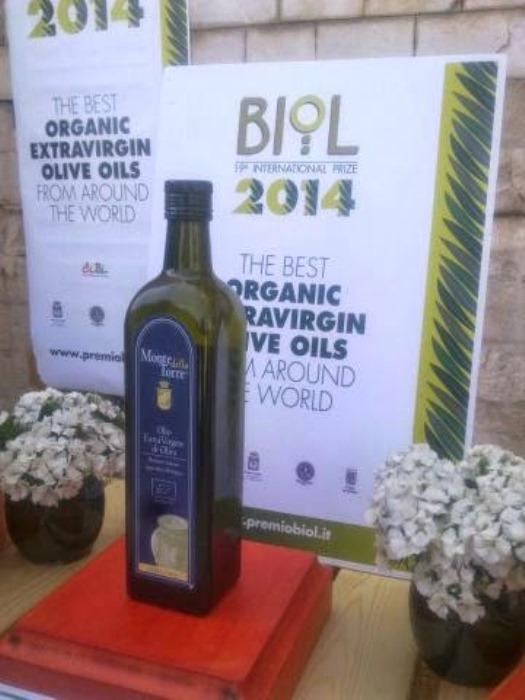 Olio casertano vince palma miglior bio. Riconoscimento del Premio Internazionale Biol 2014 ad Andria