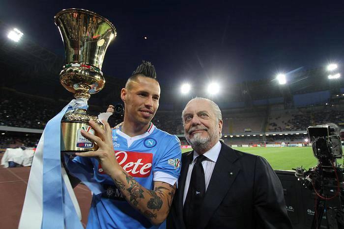Hamsik, Napoli punta a grandi obiettivi 'Giocheremo per vincere scudetto e Coppa Italia'