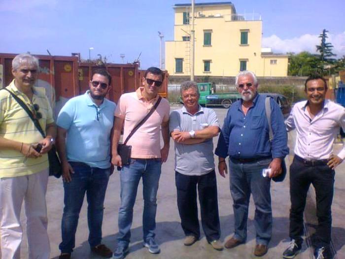 La Grecia studia Portici e il suo metodo di raccolta differenziata. Visita di una delegazione greca nella cittadina vesuviana.