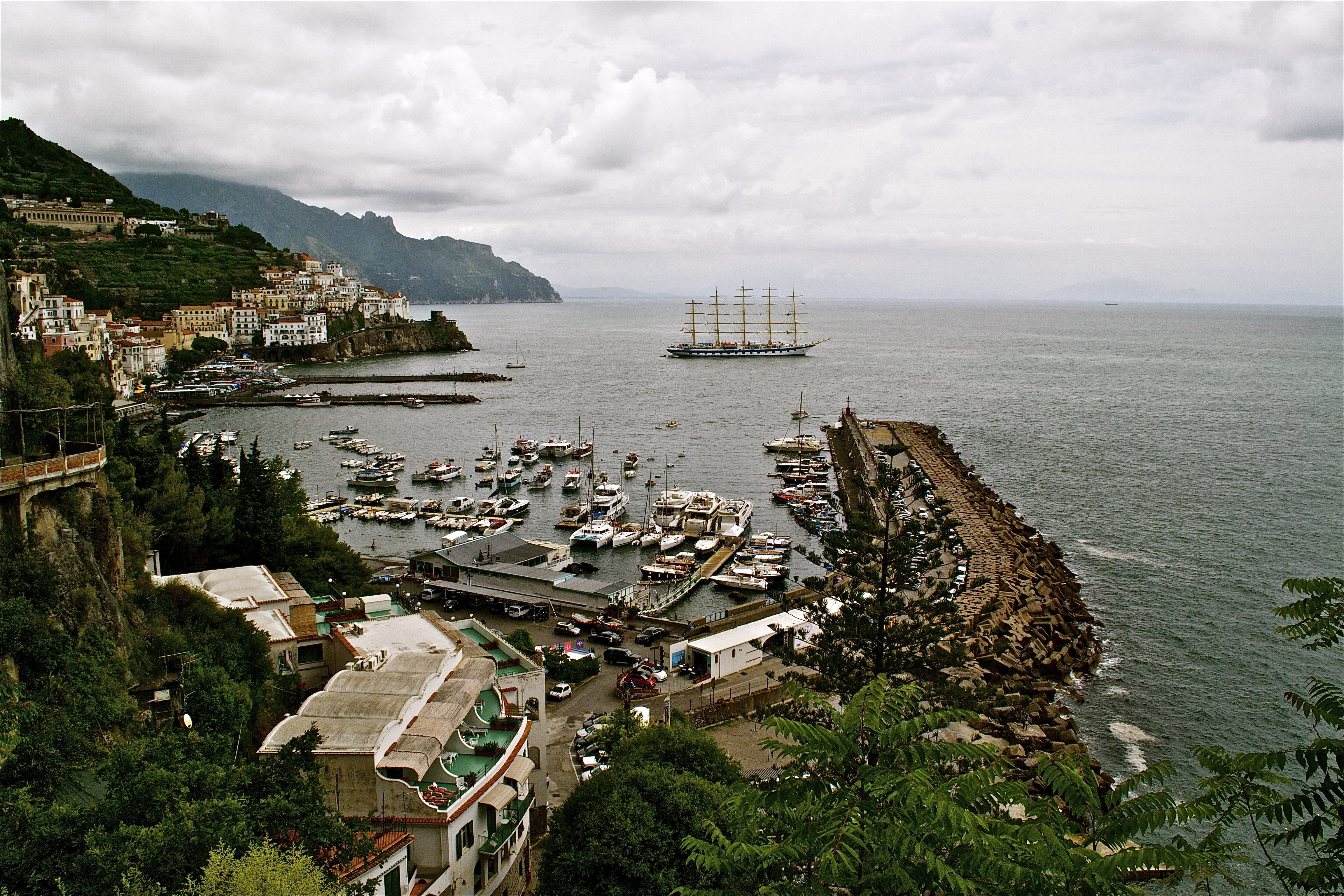 """Premio inglese ai  Citysightseeing Napoli per il tour """"coast to coast"""" Sorrento-Positano-Amalfi"""