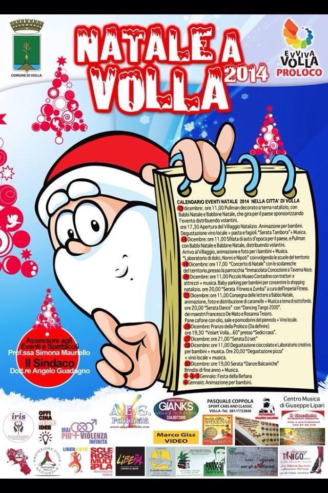 Volla. Calendario natalizio per grandi e piccini