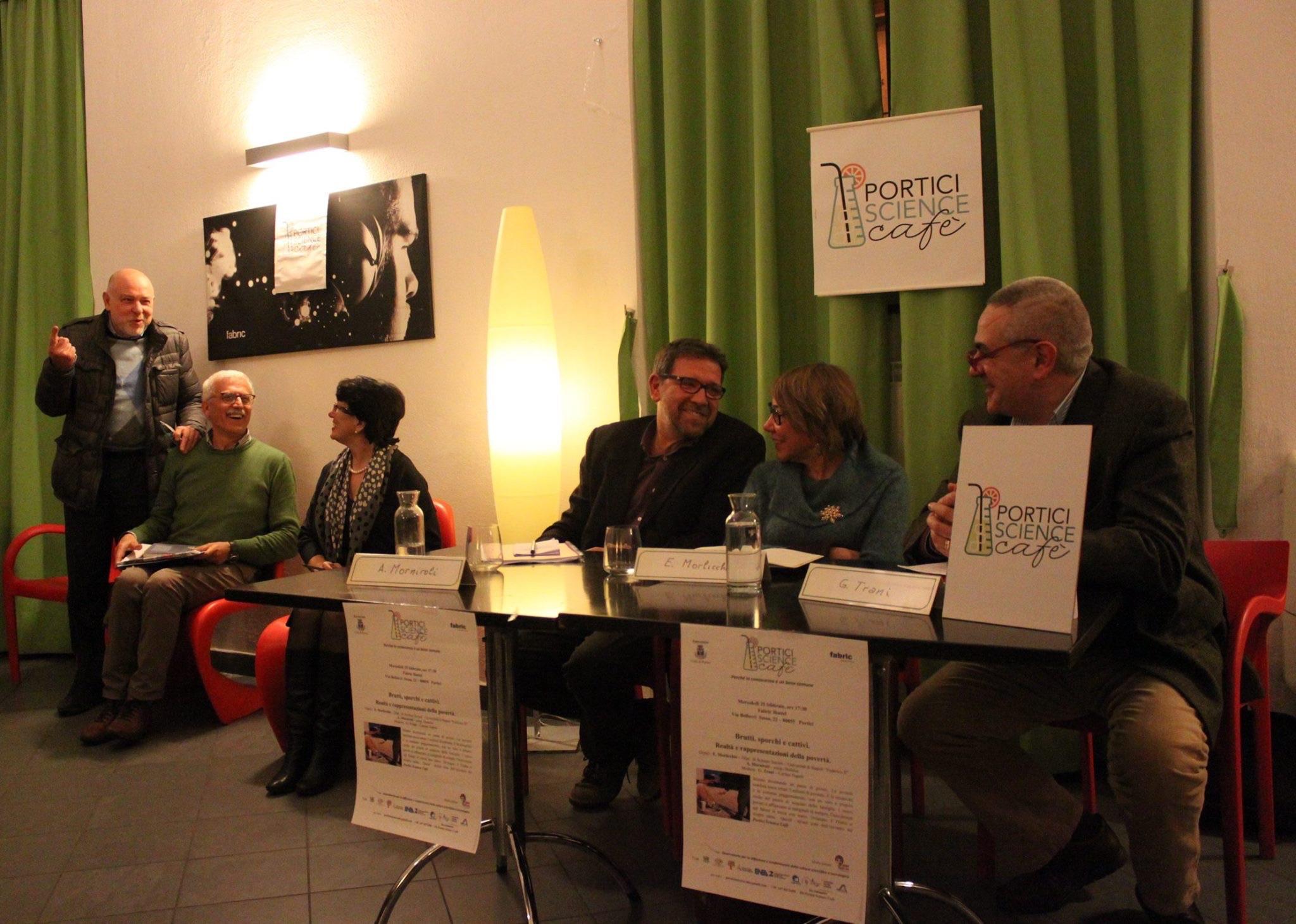 """Brutti, sporchi e cattivi: al """"Portici Science Cafè"""", spazio ai diritti dei poveri"""