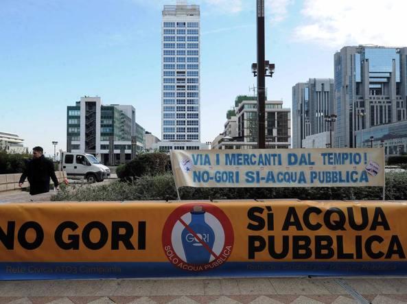 """Acqua, D'Elia (M5S): """"L'odg contro la legge regionale sia approvato in tutti i Comuni""""."""