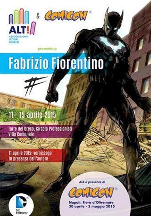 Comicon sotto il Vesuvio, con l'associazione Alt a Torre del Greco una mostra del fumettista Fabrizio Fiorentino