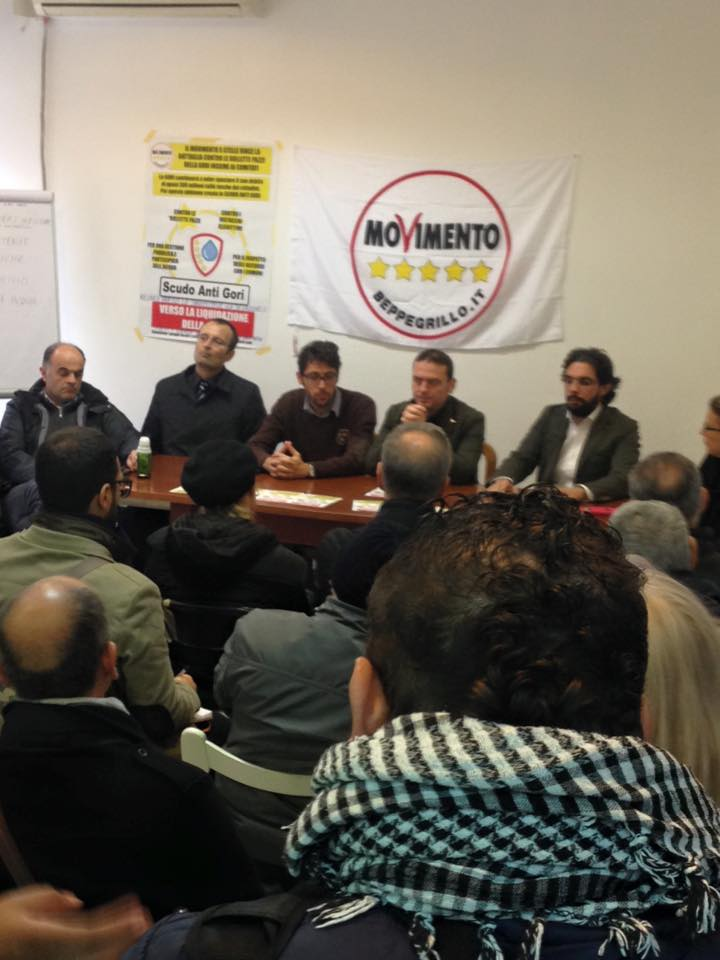 """Acqua, Sportello regionale """"Scudo Anti Gori"""" inaugurato a San Giorgio a Cremano. Il M5S: Cittadini potranno difendersi da distacchi dei contatori e """"bollette pazze"""""""