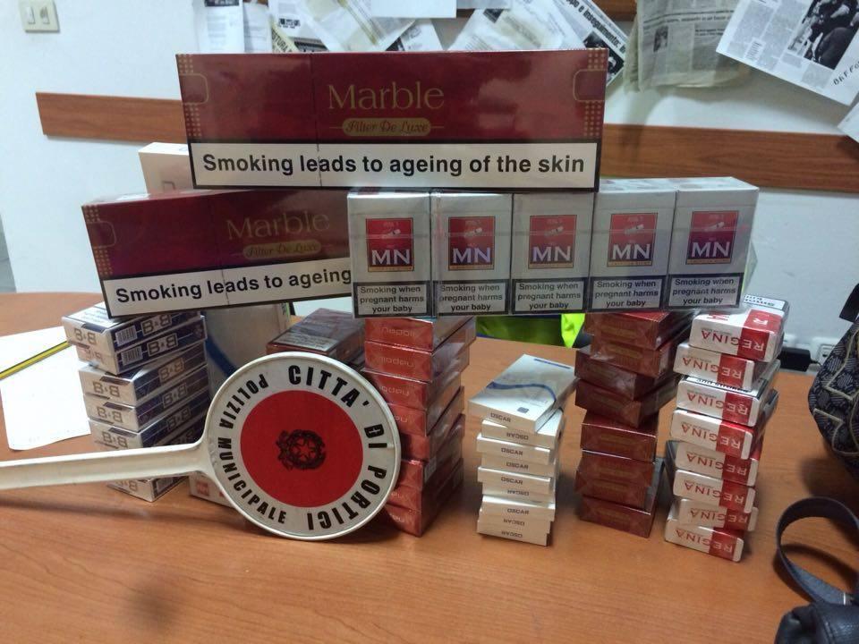 """A Portici tornano """"le bionde"""": i Niss sequestrano 2 kg di sigarette di contrabbando"""