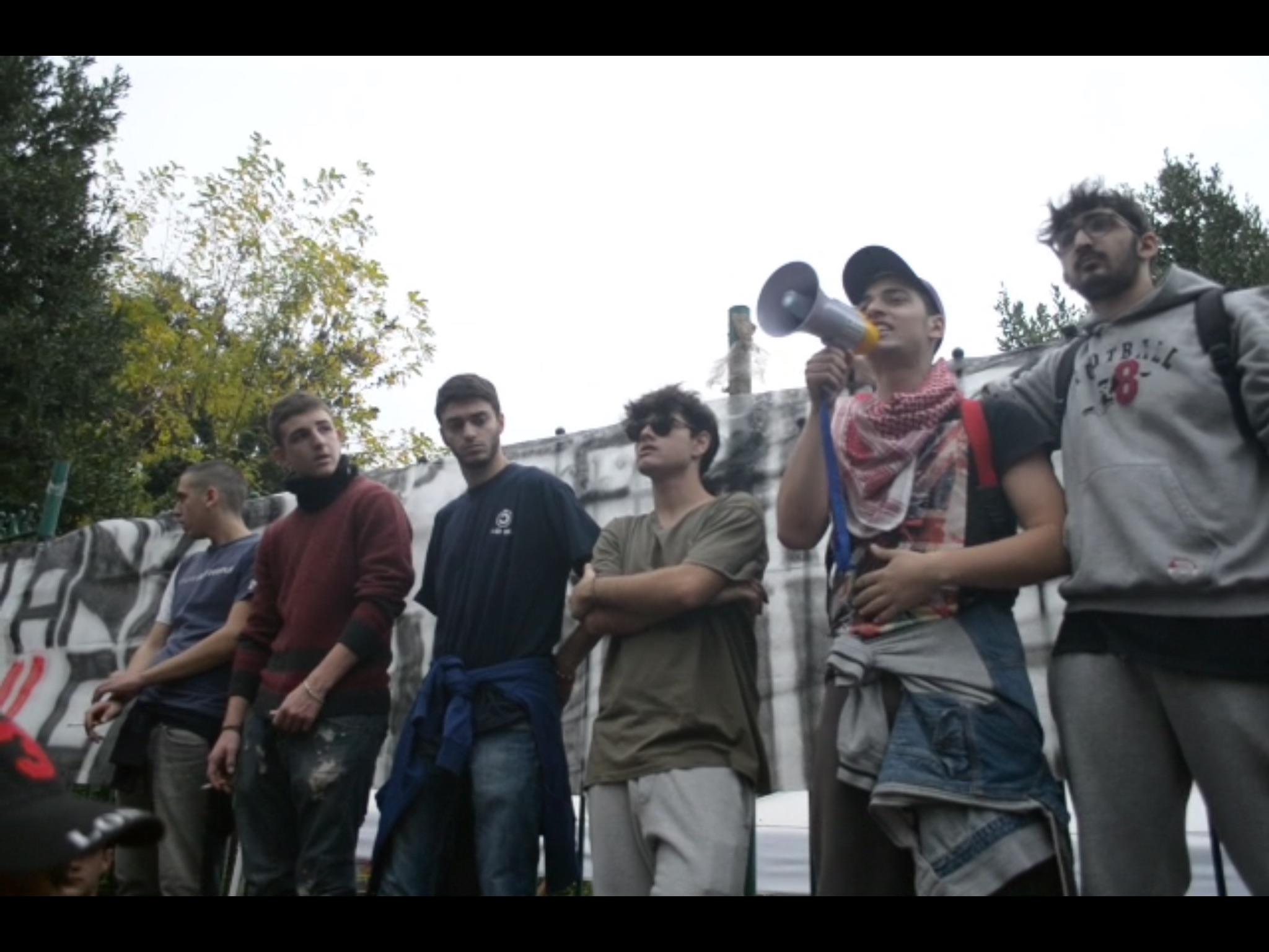 (Video e fotogallery) Studenti vesuviani in protesta a Portici contro la Buona Scuola.