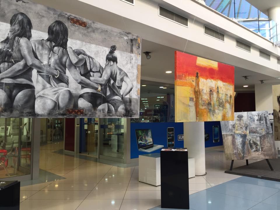 """Nel foyer della Galeria Sedicicasa: """"Volart, il Vesuvio tra leggenda ………e un pizzico di storia"""""""