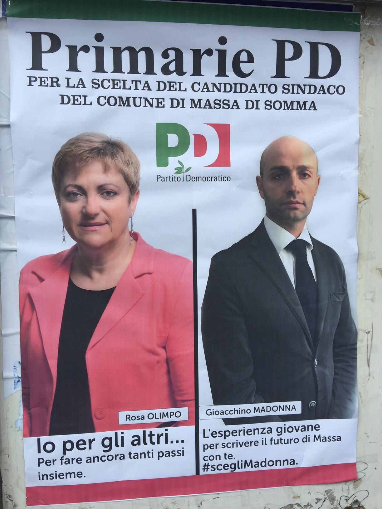 PRIMARIE, Segreteria Pd Napoli annulla le Primarie a Massa di Somma. A San Sebastiano urne aperte fino a stasera