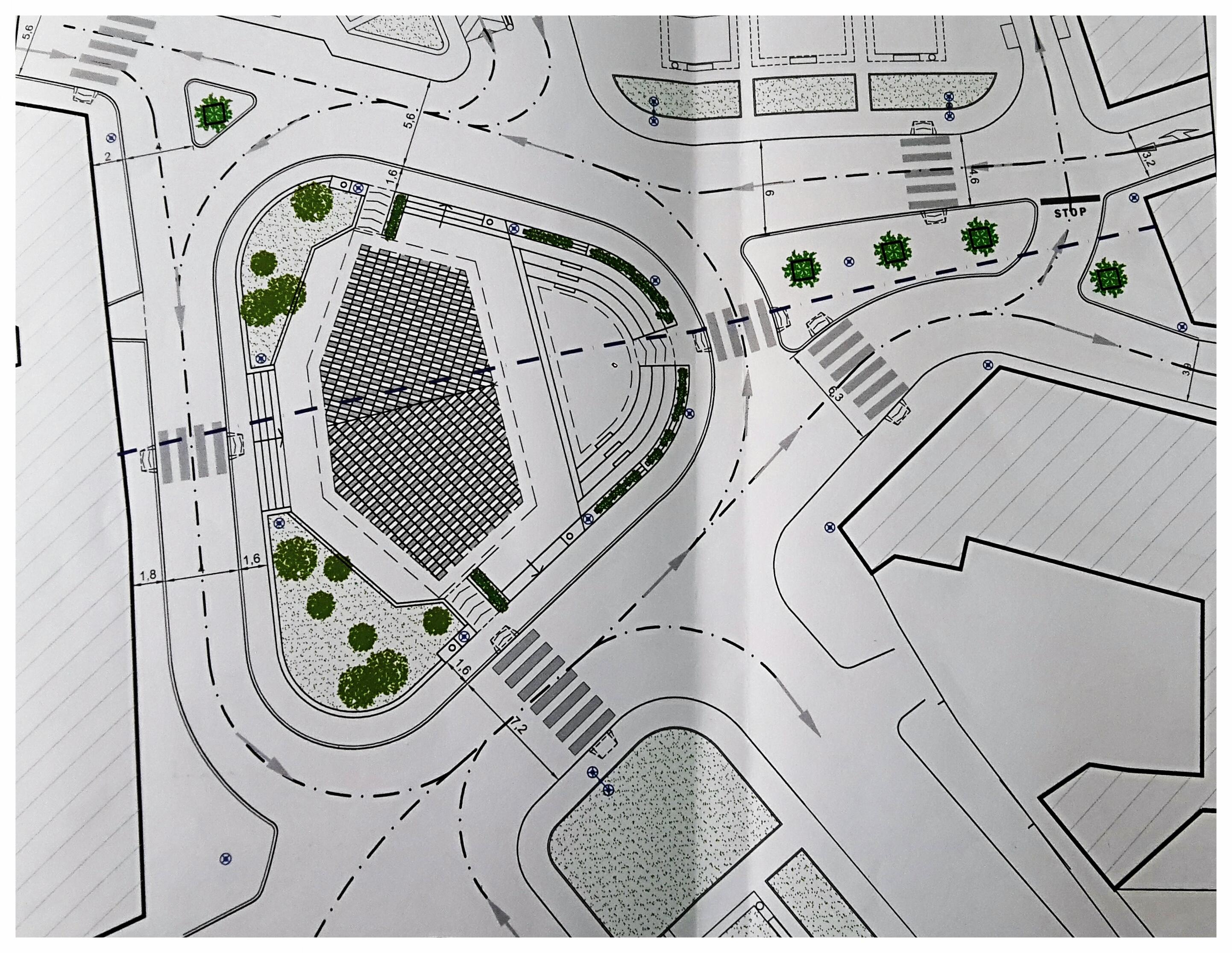 Il nuovo volto di Piazza Massimo Troisi: cambia la viabilità e aumentano gli spazi verdi. Un altro successo targato Zinno che ringrazia anche l'On. Bruno Cesario