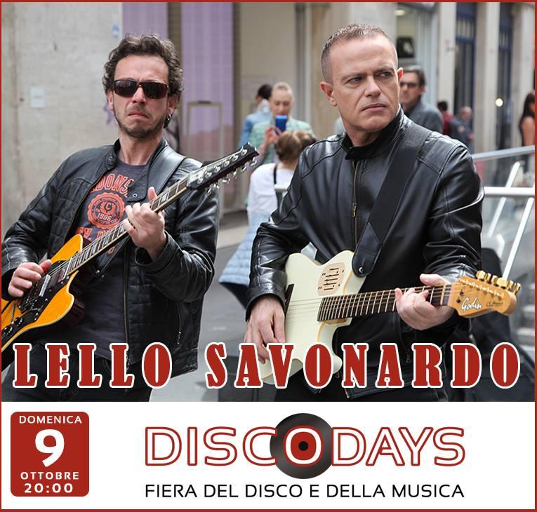 Il sociologo cantautore Lello Savonardo e la sua Bit Generation chiudono Disco Days