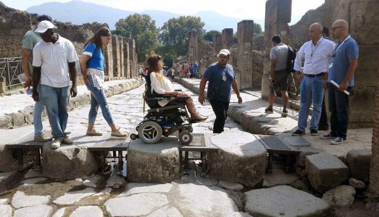 Pompei: percorso disabili per le Terme. Il progetto finanziato da Fondazione Deloitte