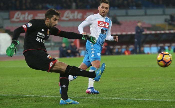 Un Napoli impeccabile batte il Genoa: aspettiamo solo il Real. Forza Campioni