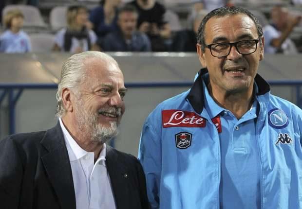 Napoli, De Laurentiis contro Sarri: il patron ordina il silenzio per tutti