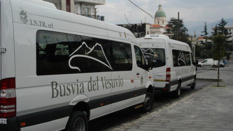 Parco Vesuvio,eccoi nuovi bus per i turisti