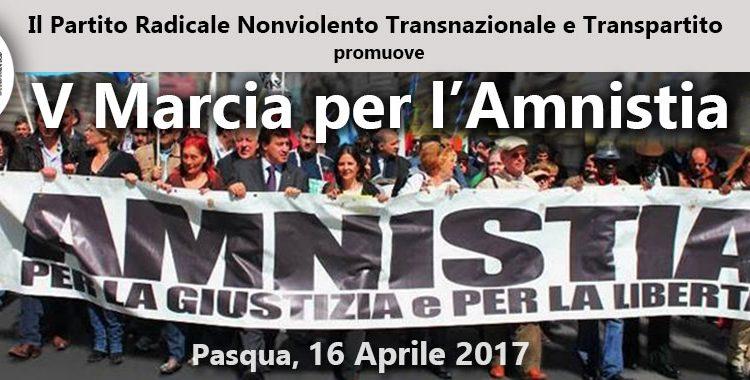 Marcia di Pasqua per l'amnistia, il Partito Radicale a Roma manifesta per lo stato di diritto e la giustizia giusta