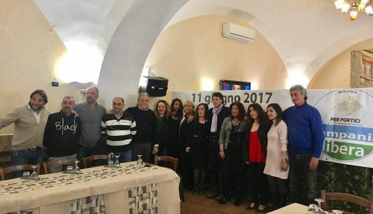 """Portici verso il voto. """"GIRL'S POWER!"""": Campania Libera-Rete Civica Per Portici chiude la lista con 14 donne e 10 uomini"""