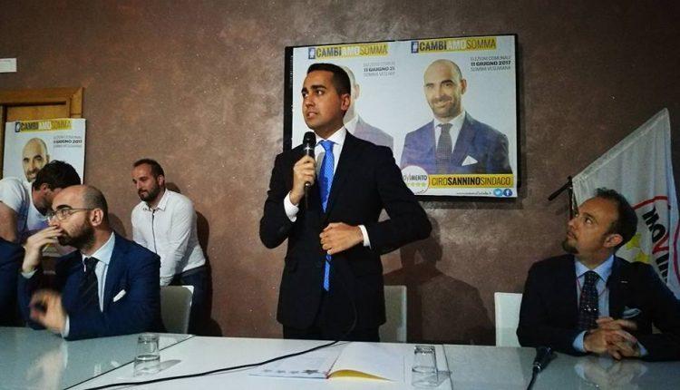 I big 5 Stelle a Somma Vesuviana per la candidatura di Luigi Sannino