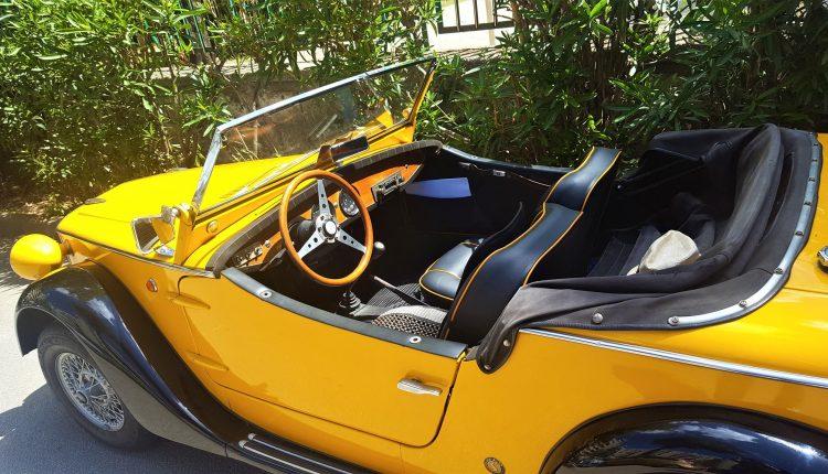 Raduno veicoli d'epoca al Parco Vesuvio di Ponticelli