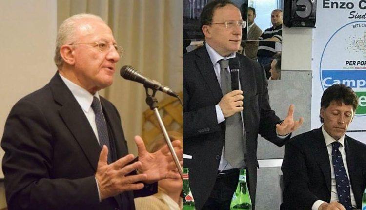Portici verso il voto – De Luca sfida De Magistris e dopo lo Zooprofilattico sfila in città